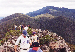 On the Mt William Range (one of the Grampians ranges) near Grampians Paradise Camping and Caravan Parkland