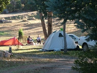 Economy unpowered camping sites
