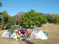 Unpowered camping sites with views of the Grampians