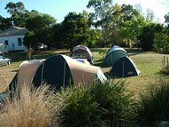 Extra large Unpowered camping sites with views of the Grampians