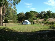 Large premium unpowered camping Site with fire pit