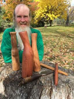 Aidan Banfield of Grampians Paradise Camping and Caravan Parkland is the host for the Fox Maple Austraila Timber Framing Workshop in October 2018